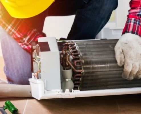 air conditioner leak repair